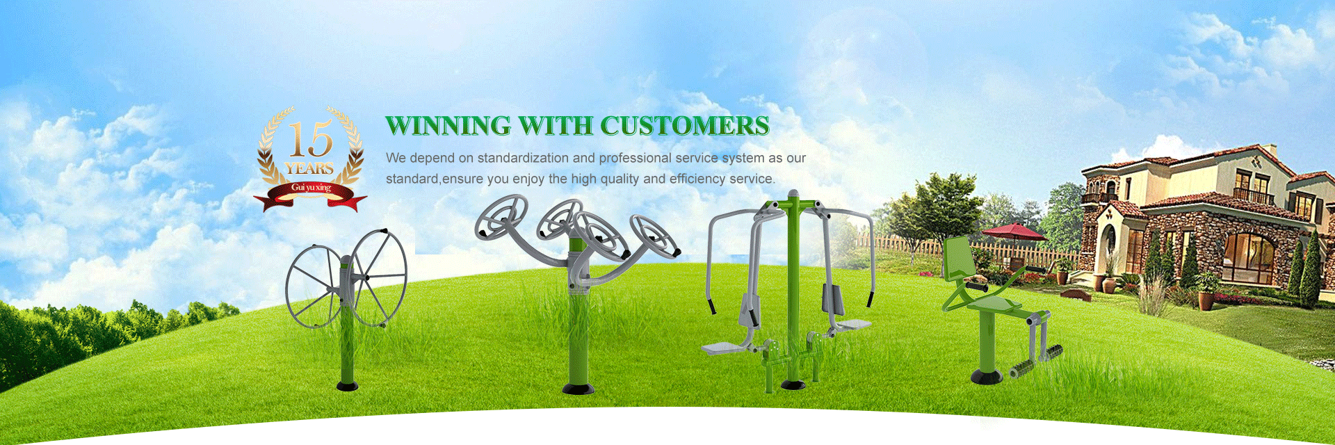 High Quality Outdoor Fitness Equipment