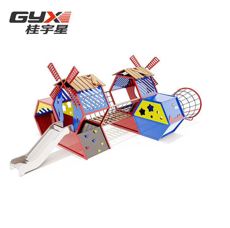 Large Kids Outdoor Playground Equipment RJ-18018A